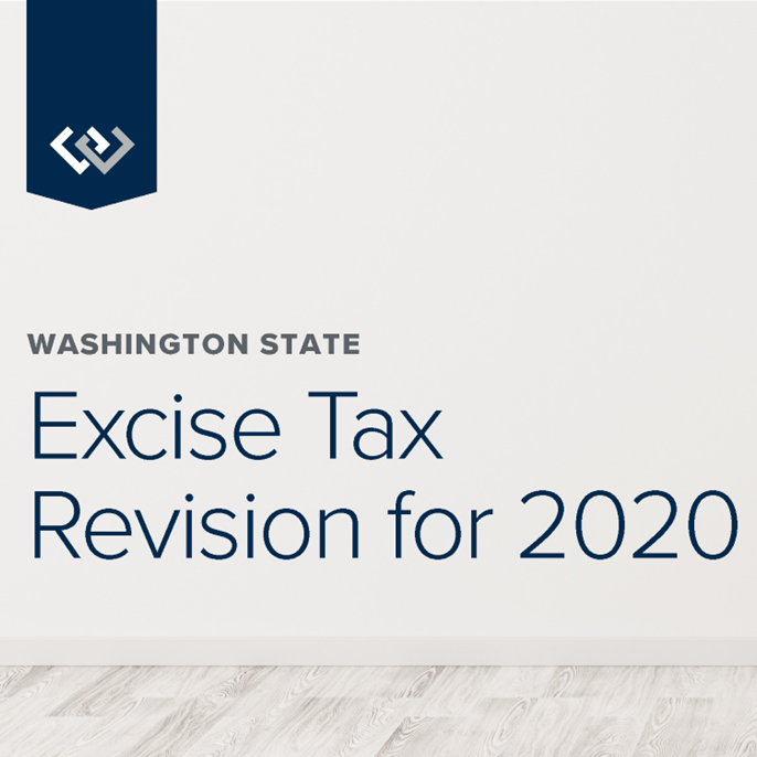 Excise Tax Revision for Washington State